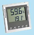 KVD200 belső érzékelős hő- és páramérő