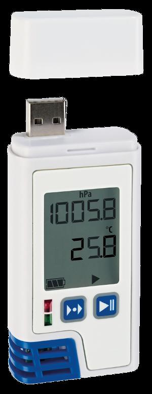 KVDLOG220 hőmérséklet / relatív páratartalom / légnyomás adatgyűjtő