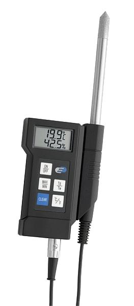 KVDP470 digitális hőmérséklet- és relatív páratartalom-mérő