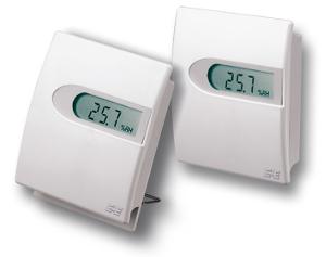 KVEE02 belső érzékelős hő és páramérő