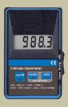 KVGTD1100 precíziós digitális barométer, hőmérséklet és magasságméréssel
