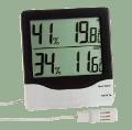 KVI04 külső és belső érzékelős hő és páratartalom mérő